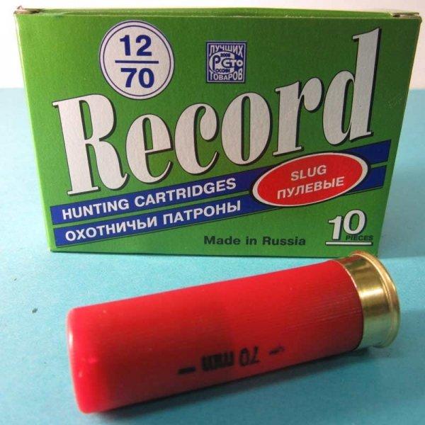 пуля стрела рекорд 12 калибра отзывы