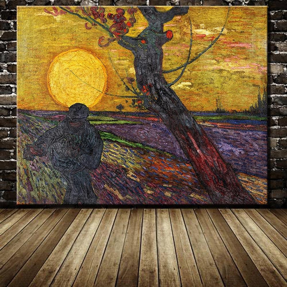 Картина Ван Гога Сеятель
