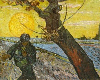 """Картина Ван Гога """"Сеятель"""": описание, история, посыл"""