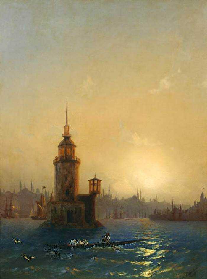 Картины Айвазовского в Третьяковской галерее: перечень и описание