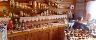 Лучшие музеи матрешек в России