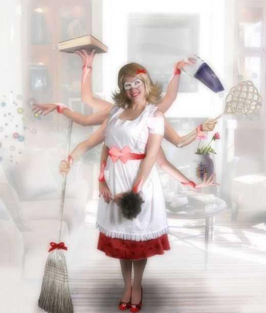 Чем занимаются домохозяйки, кроме домашних дел?