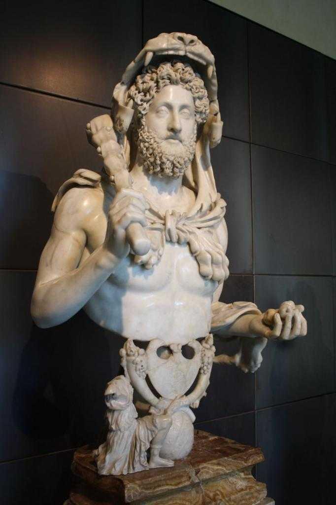 Римская скульптура. Коллекция древнеримской скульптуры в Эрмитаже