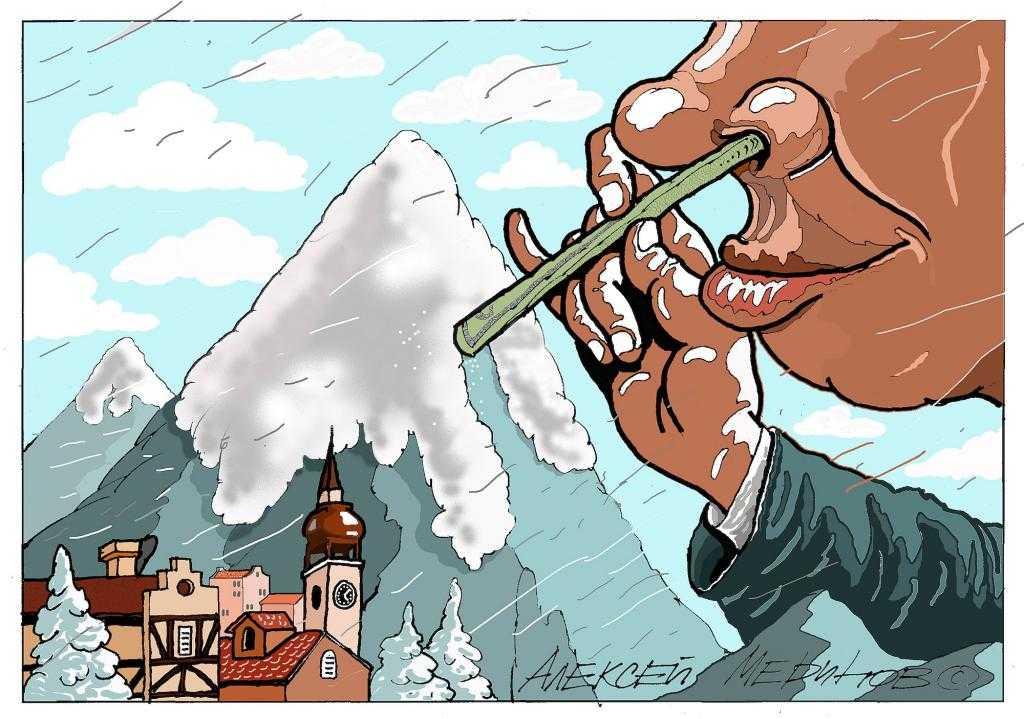 Алексей Меринов, художник и карикатурист