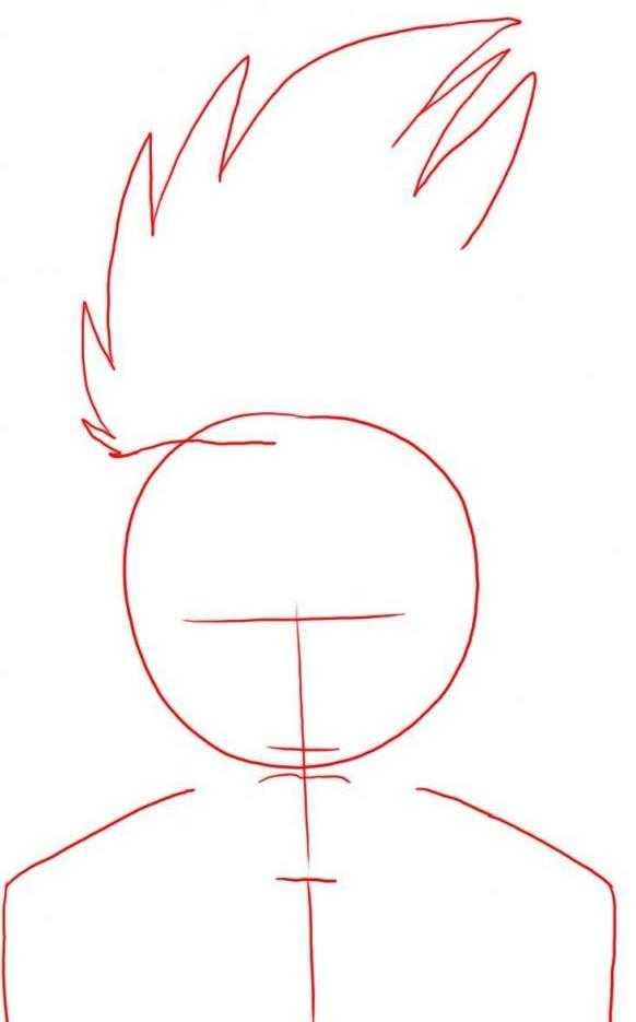 """Как нарисовать Какаши-сенсея из аниме """"Наруто""""?"""