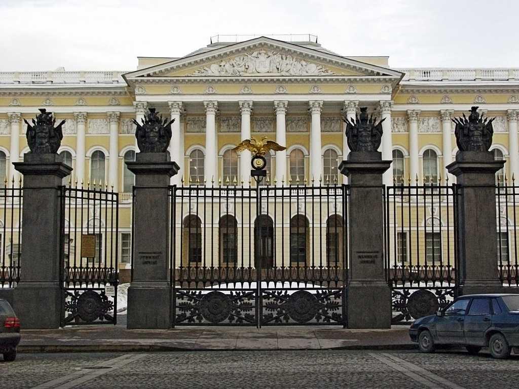 В лектории Русского музея рассказывают об истории живописи, музыки и музейного дела