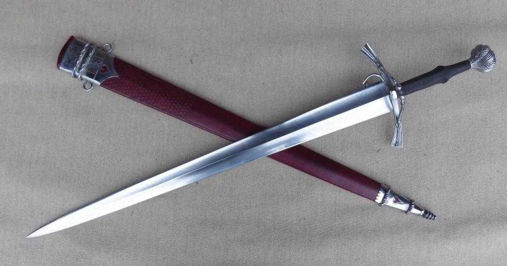 Современный меч: классификация и описание, сталь, фото