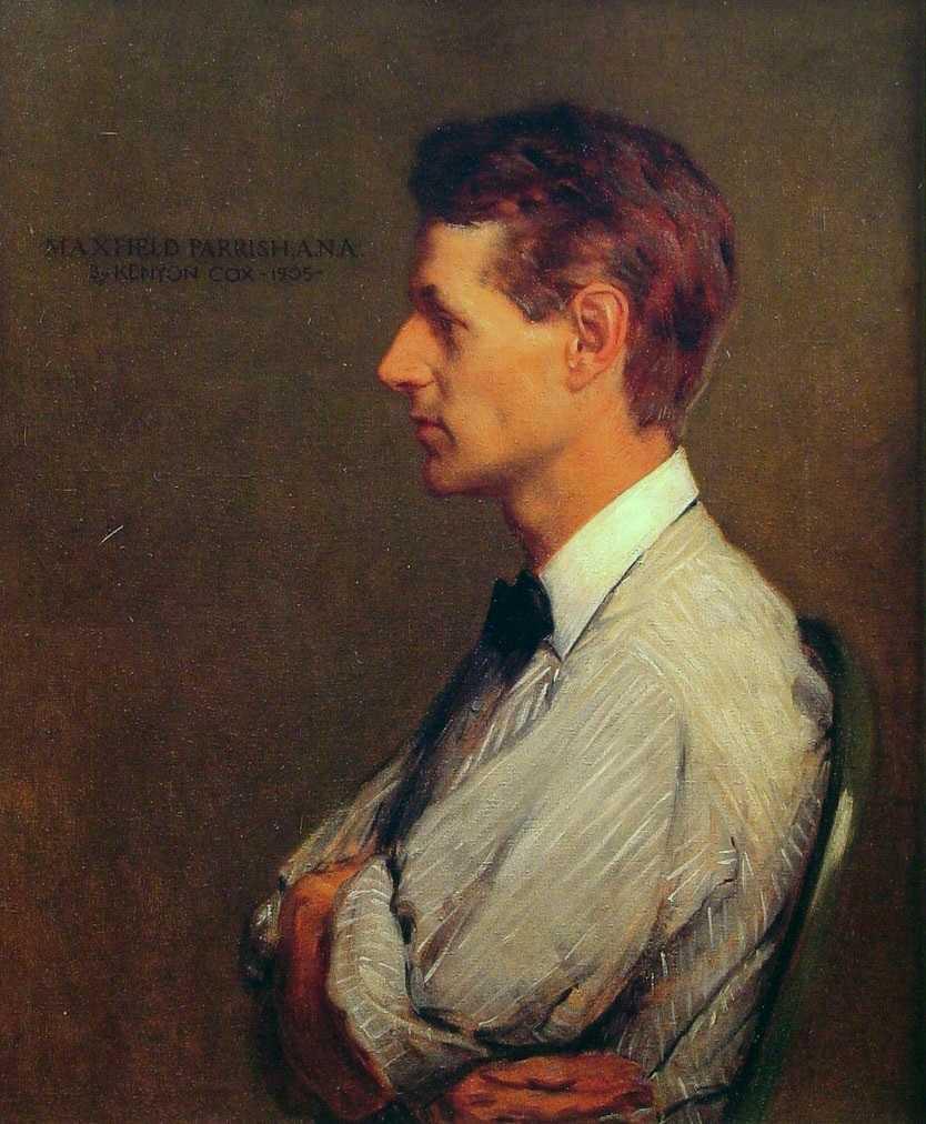 Максфилд Пэрриш: биография художника, известные картины